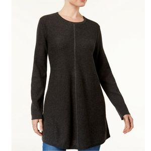 Style & Co Sweaters - STYLE & CO Petite Mixed-Stitch Tunic Sweater